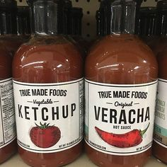 Report from @friendsmarketplace #TrueMadeFoods ketchup is made with over a cup of real veggies which means more vitamins and less added sugar! @truefoodsinc #healthy #American #classic @friendsmarketplace