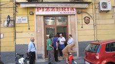 Eat at  L'Antica Pizzeria Da Michele in Naples, Italy. The oldest pizzeria in the world. As seen in Eat Pray Love.