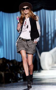 Dsquared2: Milan Fashion Week Womenswear A/W 2009 - Runway - Pictures - Zimbio