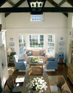 Family Room Design Ideas. Coastal Family room. Traditional. #FamilyRoom #Coastal #Traditional #Interiors