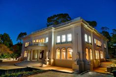 Modeled after an Austrian princesses' Corfu palace, the architectural…