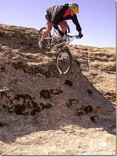 gooseberry mesa and moab utah mountain biking pictures and helmetcam