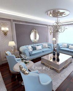 Stunning Ideas To Decorate Stylish Living Room Living Room Sofa, Home Living Room, Living Room Designs, Living Room Furniture, Living Room Decor, Home Decor Furniture, Furniture Design, Elegant Living Room, Luxury Living