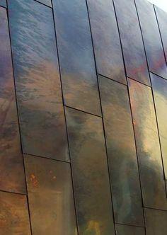 Exterior cladding materials metal siding 41 Ideas for 2019 Metal Facade, Metal Cladding, Metal Siding, Metal Buildings, Metal Roof, Roof Cladding, Cladding Panels, House Cladding, Metal Panels