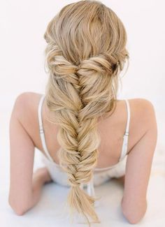 double chunky fishtail