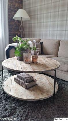 Stomme från IKEA's soffbord?  DIY soffbord