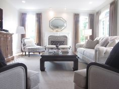Our Arcata Sofa Paired With Other Ethan Allen Furniture Pieces And - Ethan allen chadwick sofa