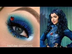 Disney Descendants Evie Makeup Tutorial | Cecilie Alstad O. Video ...
