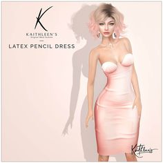 https://flic.kr/p/SRBh5o | Kaithleen's Latex Pencil Dress | Hi guys,  Another new release for you at the latest round of Très Chic  Kaithleen's Latex Pencil Dress  - 100% original mesh - Maitreya Lara, Belleza Freya-Isis and Venus, Slink body  Take taxi and check this out :  maps.secondlife.com/secondlife/Nika/128/121/2001
