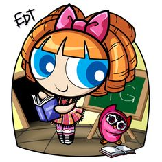 Bea Blossom by thweatted.deviantart.com on @deviantART lalaloopsy powerpuff girls together!