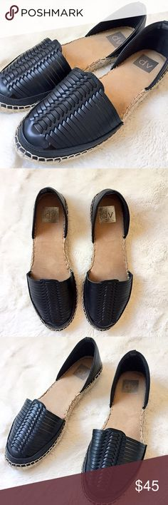 559165bf3ee ✨NEW LISTING✨ DV by Dolce Vita Espadrilles Like new black and tan summer-