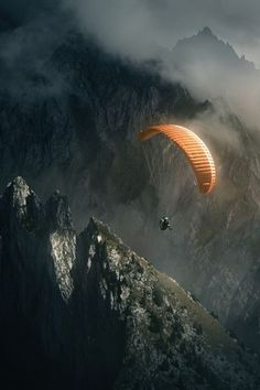 Paragliding. It just looks so amazing.