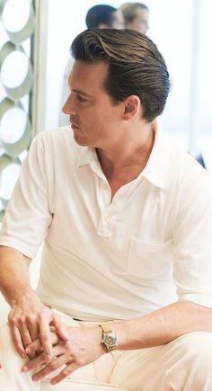 I adore this style in men