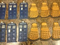 Must make these!!! Dr. Who Cookies