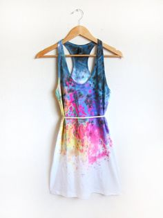 tiedye and splatter dress!