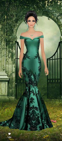 40 ideas design sketch fashion chic for 2019 Fashion Dress Up Games, Fashion Dresses, Moda Fashion, Covet Fashion, Evening Dresses, Prom Dresses, Formal Dresses, Award Show Dresses, Lace Dress Styles