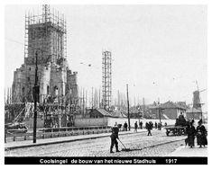Coolsingel bouw stadhuis 1917