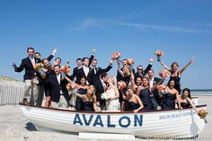 Follow #Professionalimage – Nautical Bridal Party | Asya Photography | TheKnot.com