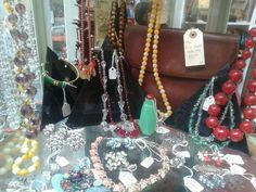 Vintage jewellery at cabinet 49 snoopers paradise, Brighton