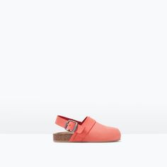 LEATHER CLOGS WITH BUCKLE-Shoes-Baby girl (3 months - 3 years)-KIDS | ZARA United States