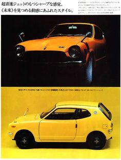 Japanese Honda Z600 Brochure - Zero to Sixty in 32.6 Seconds
