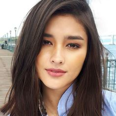 If you like your hairdo, there's no reason to agonize over making a s Liza Soberano, Straight Eyebrows, Most Beautiful Faces, Asian Hair, Cute Faces, Short Bangs, Dark Hair, Pretty Face, Beauty Women