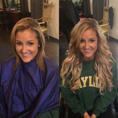 Before and after Salon Chicago www. - Beauty, make up & hair - Hair Styles Hair Extension Salon, Hair Products Online, Tape In Hair Extensions, Blonde Hair Extensions Before And After, Tape In Extensions, Hair Color And Cut, Chicago, Trends, Trendy Hairstyles