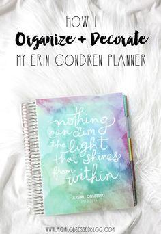 How I Organize + Dec