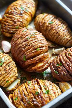 easy hasselback potatoes recipe
