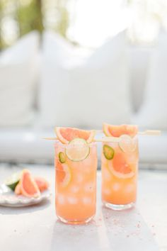 Grapefruit Margarita with Jalapeno   ChicChicFindings.etsy.com