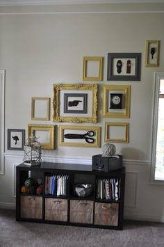 תוצאת תמונה עבור art with empty frames