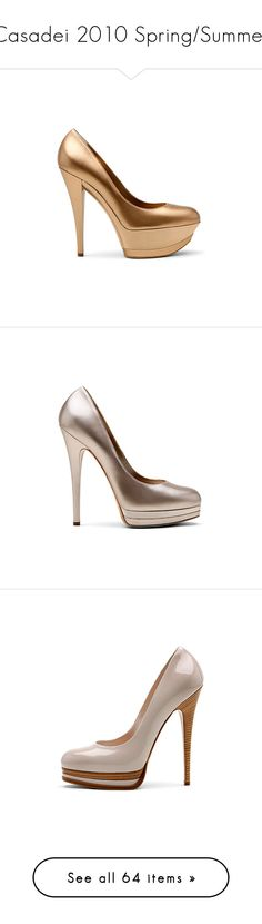 """Casadei 2010 Spring/Summer"" by enchantedxox ❤ liked on Polyvore featuring shoes, casadei, pumps, casadei shoes, summer shoes, summer footwear, heels, cipele, casadei pumps and summer pumps"