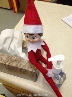 Elf On The Shelf Goes To School