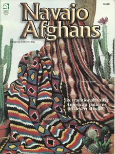 Crochet Navajo Afghan Patterns - Southwest - Indian Design