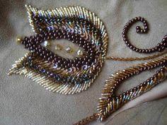 объемная вышивка бисером по шнуру - Поиск в Google