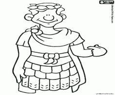 Colorear El Emperador Romano Julio Cesar Educational Resources For