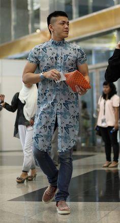 Indonesia Fashion Week - Bob Trotta is a high end, men's fashion consultant…