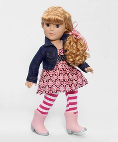 Loving this Too Cute in Boots Favorite Friends Doll on #zulily! #zulilyfinds