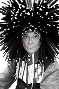 White Bear BW -wearing a Dog Soldier head dress. The Dog Soldiers were a group of Indian warriors who in the late wreaked havoc upon white settlers and US soldiers on the plains of eastern Colorado before finally being defeated. Native American Regalia, Native American Print, Native American Wisdom, Native American Pictures, Native American Beauty, Native American Artists, American Indian Art, Native American History, Dog Soldiers