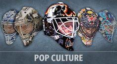 Goalie mask designs evolve into artwork