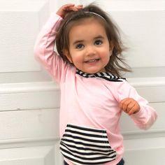 She's getting so big! . Love this adorable top from @monsterbunnyboutique . . #toddlerfashion #kidsofig #shopsmall #etsy #shopping #womeninbusiness #supportsmallbusiness #entrepreneur  #handmade #kids #like4like #goodvibes #womeninbusiness #girlboss #motivated #mompreneur  #madewithlove #babygirl #babygirls #cutebaby #adorable #marketing #momlife #momlifestyle #darling #littlesweetie #ootd #newbabygiftp #photoday