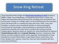 #Resorts #Hotel #Shimla #Kufri #HimachalPardesh #Cheap #nature