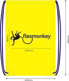 Developing drawstringbags for the new Dutch brand FlexMonkey @FlexMonkeyWear on twitter