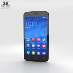 Huawei Honor 3C Play White 3D Model .max .c4d .obj .3ds .fbx .lwo .stl @3DExport.com by humster3D