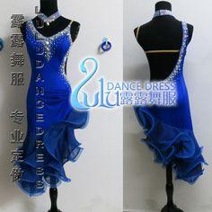 Vendite calde! vestito da ballo latino, tango salsa vestito da ballo samba, usura di ballo latino Lulu-2102