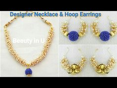 How to make Tear Drop Shaped Silk Thread Earrings at Home | Tutorial ...