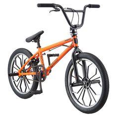 Youth Mongoose 20-Inch Legion Mag BMX Bike, Orange
