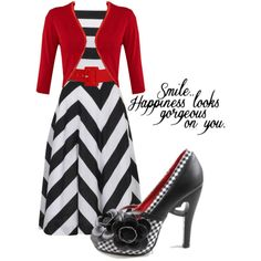 """There is nothing a girl can wear that looks more beautiful than happiness."" by december-baby on Polyvore"