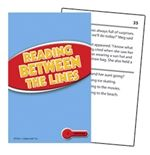Reading Between the Lines Practice Cards - level 2.0 - 3.5 (level 3.5 - 5.0 also available)