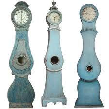 Painted Mora Clock, love a swedish clock.